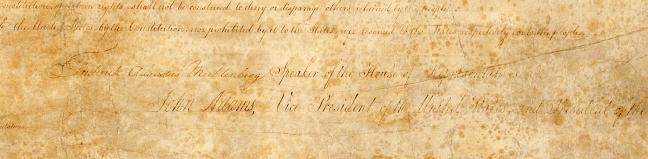 Bill of Rights, 1791 post treatment 00306_2003_001